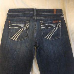 7FAMK Dojo Jeans